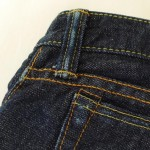 桃太郎ジーンズ3~4ヶ月目の写真と感想: 洗剤と裾上げとベルトループと。