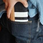 桃太郎ジーンズのオーダー商品が増えています!オーダー財布が新しく追加。